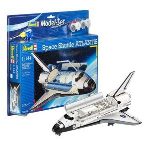 REV64544-01-1-SPACE-SHUTTLE-ATLANTIS-1-144--MODEL-SET--REVELL-64544