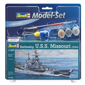 REV65128-01-1-MODEL-SET-BATTLESHIP-U-S-S--1-1200-REV65