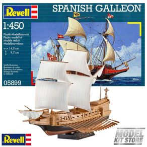 REV65899011MODELSETPANISHGALLEON1450REVELL