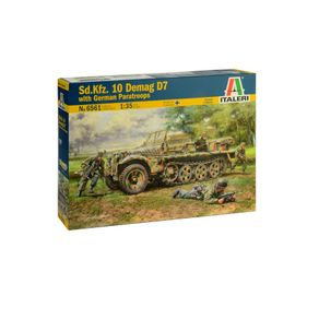 ITA6561S011SDKFZ10DEMAGD7WITHGERMANPARATROOPERS135ITALERI