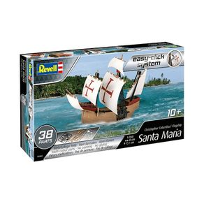 REV05660011CHRISTOPHERCOLUMBUSFLAGSHIPSANTAMARIA1350REVELL