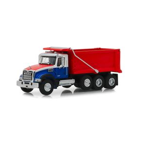 Miniatura-HD-Trucks-1-64-Greenlight-Mack-Granite-Dump-Truck