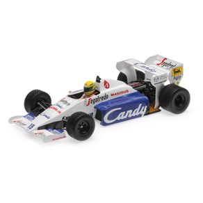Miniatura-Carro-F1-Toleman-Hart-Tg184-Ayrton-Senna-Monaco-Gp-1984-1-18-Minichamps