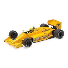 Miniatura-Carro-F1-Lotus-Honda-99T-Ayrton-Senna-Winner-Monaco-Gp-1987-1-18-Minichamps