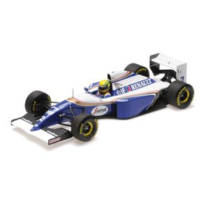 Miniatura-Carro-F1-Williams-Renault-Fw16-–-Ayrton-Senna-–-San-Marino-Gp-1994-1-18-Minichamps