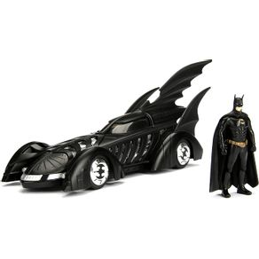 Miniatura-Carro-1995-Batmobile-Forever-e-Figura-1-24-Jada