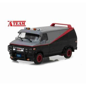 Miniatura-Carro-GMC-Furgao-Vandura--1983--The-A-Team-1-43-Greenlight
