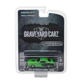 Miniatura-Carro-1971-Plymouth-Hemi-Cuda-1-64-Greenlight
