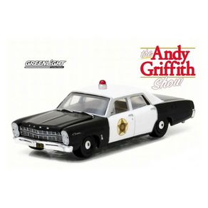 Miniatura---Carro---1967-Ford-Police-Griffith---1-64---Greenlight