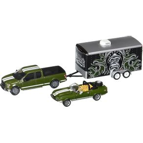 Miniatura---Carro---1968-Shelby-GT500KR-e-2015-Ford-1-64---Greenlight