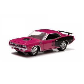 Miniatura---Carro---1971-Plymouth-Hemi-Cuda---1-64---Greenlight