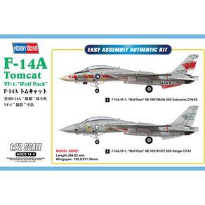 F-14A-Tomcat-VF-1--Wolf-Pack----1-72---Hobby-Boss