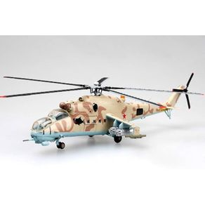 Miniatura---Helicoptero-Russian-Air-Force-MI-24--Hind----1-72---Easy-Model