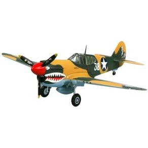 Miniatura---P-40E-Kittyhawk-16FS-23FG-1942---1-72---Easy-Model