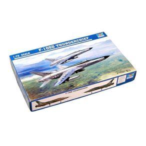 Kit-Plastico-F-105D-Thunderchief-1-72-Trumpeter
