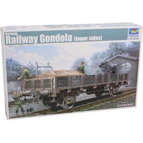 Kit-Plastico-German-Railway-Gondola--Lower-sides--1-35-Trumpeter