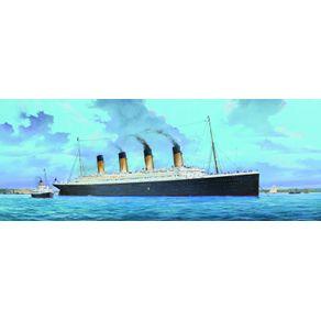 Kit-Plastico-Titanic--W-LED--1-200---Trumpeter