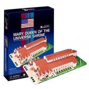 Quebra-Cabeca-3D---Santuario-Maria-Rainha-do-Universo---Cubic-Fun
