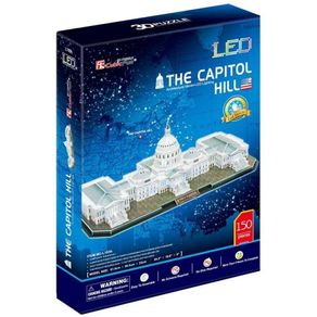 Quebra-Cabeca-3D---The-Capitol-Hill---Cubic-Fun