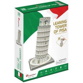 Quebra-Cabeca-3D---Torre-Inclinada-De-Pisa---Cubic-Fun