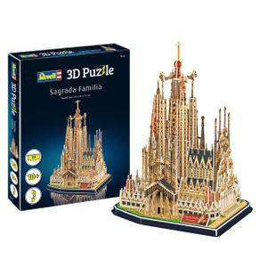 Quebra-Cabeca-3D---Sagrada-Familia---Revell