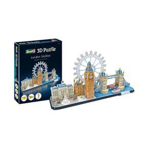 Quebra-Cabeca-3D---London-Skyline---Revell