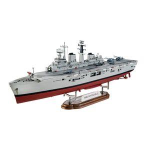 HMS-Invincible--Falkland-War----Model-Set---1-700---Revell