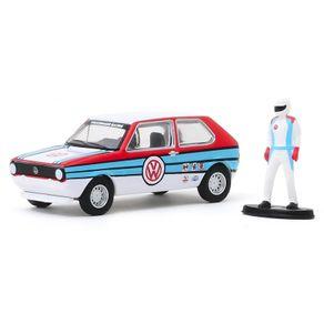 Miniatura-The-Hobby-Shop-S8-1975-Volkswagen-Rabbit-Widebody---1-64---Greenligh-GRE9708097080B