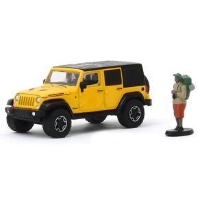 Miniatura-The-Hobby-Shop-S8-2015-Jeep-Wrangler-Rubicon---1-64---Greenlight-GRE9708097080F