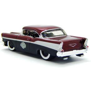Miniatura-Carro-1-64-Harley-Davidson-HD-1957-Chevrolet-Belair---Vermelho---Maisto-MAI15380945