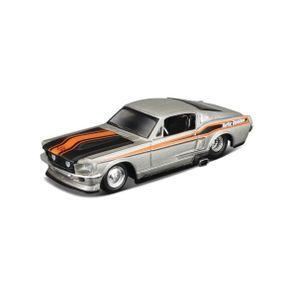 Miniatura-Carro-1-64-Harley-Davidson-1967-Ford-Mustang-GT---Prata---Maisto-MAI153802018MAI078
