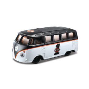 Miniatura-Carro-1-64-Harley-Davidson-Volkswagen-Samba---Preto-e-Branco---Maisto-MAI153802018MAI203