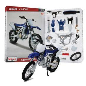 Miniatura-Moto-Yamaha-Yzf450F-1-12-Kit-De-Montar-Maisto-Assembly-Line-ROXO-MAI39195549