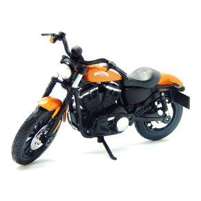 Miniatura-Moto-1-18-SErie-34-Maisto-Harley-Davidson-2014-Sporster-Iron-883---Laranja-MAI31360341915