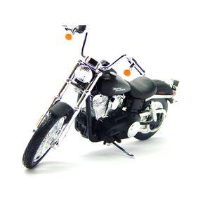Miniatura-Moto-1-18-SErie-34-Maisto-Harley-Davidson-2006-Dyna-Street-Bob---Preto-MAI31360341913