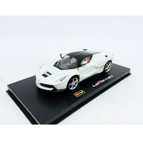 Miniatura-Carro-Ferrari-Laferrari-1-43-Bburago-Signature-BRANCO-BUR3690212_1