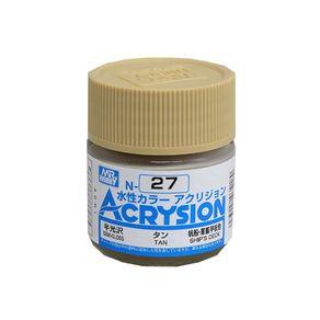 GNZAC27_01_1-ACRY027-TAN-SEMI-GLOSS